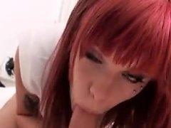 Kinky Redhead Emo Girlfriend Mariah Mars Anal