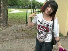 Hot Euro Tourist Oxanna Envy Is Interviewed