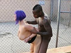 Emo Babe With Huge Tits Fucked By Big Black Cock